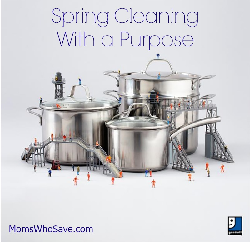Spring Cleaning with a Purpose