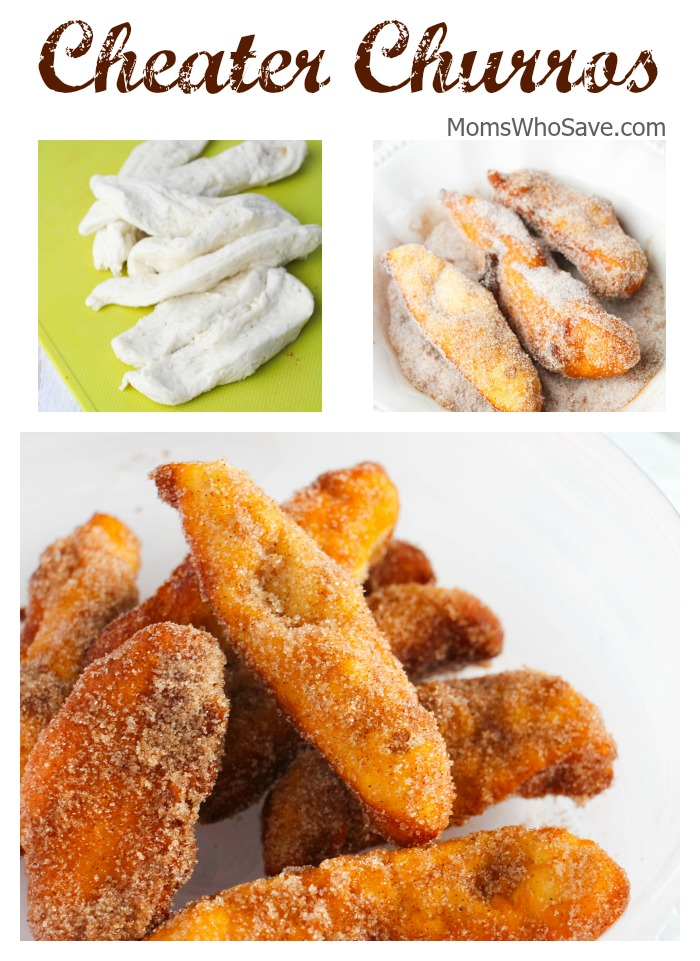 Quick churro recipe