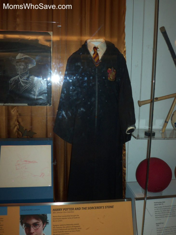 Harry Potter's robe -- in the National Museum of American History