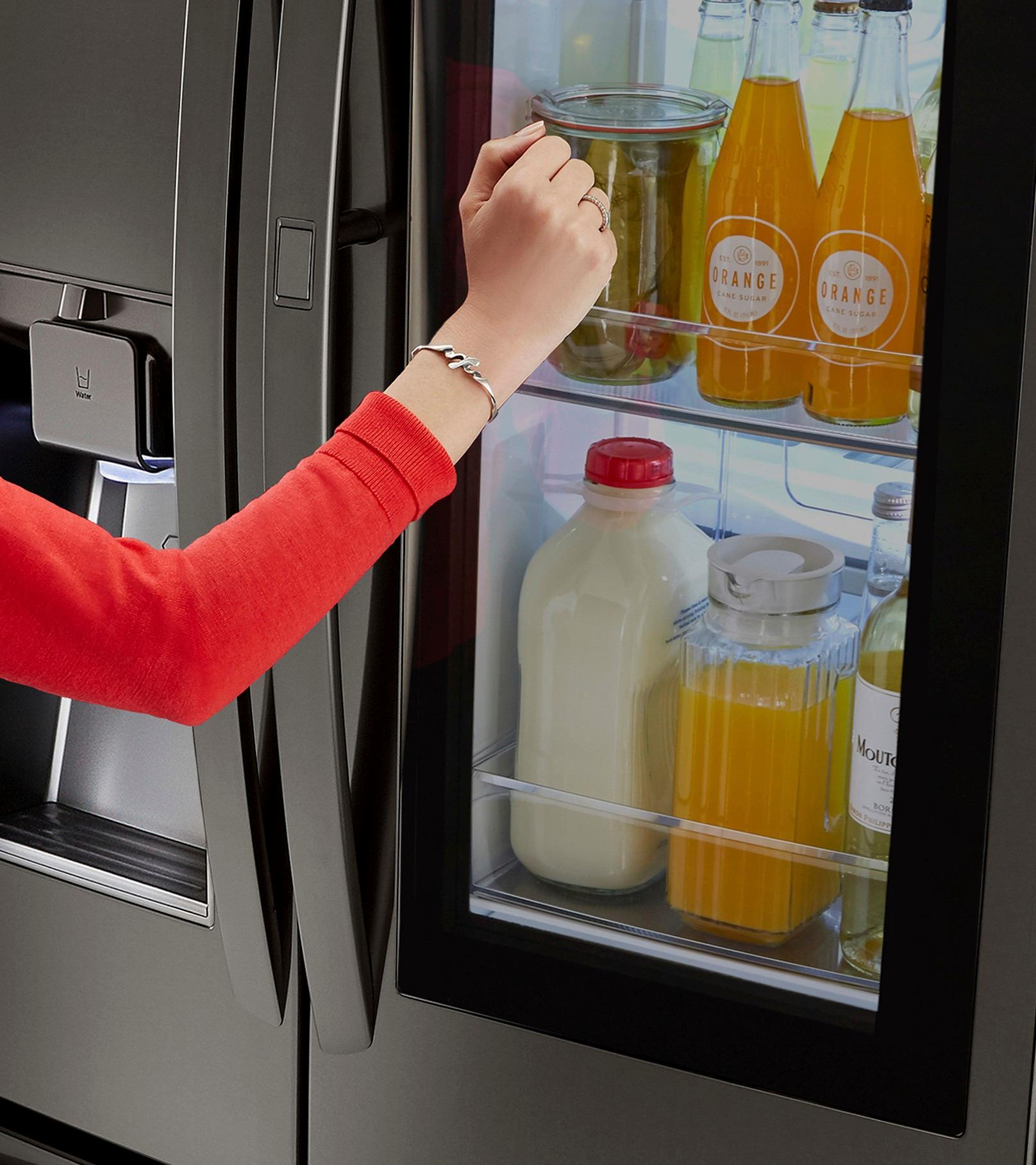 LG InstaView Refrigerator at Best Buy — The Latest in Technology & Design