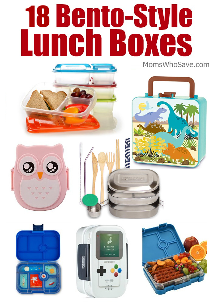 bento style lunch boxes