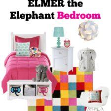 Create a Fun Elmer the Elephant Bedroom