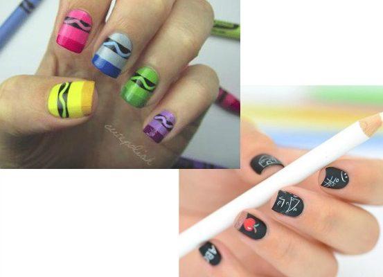 8 Fun Back-to-School Nail Art Ideas