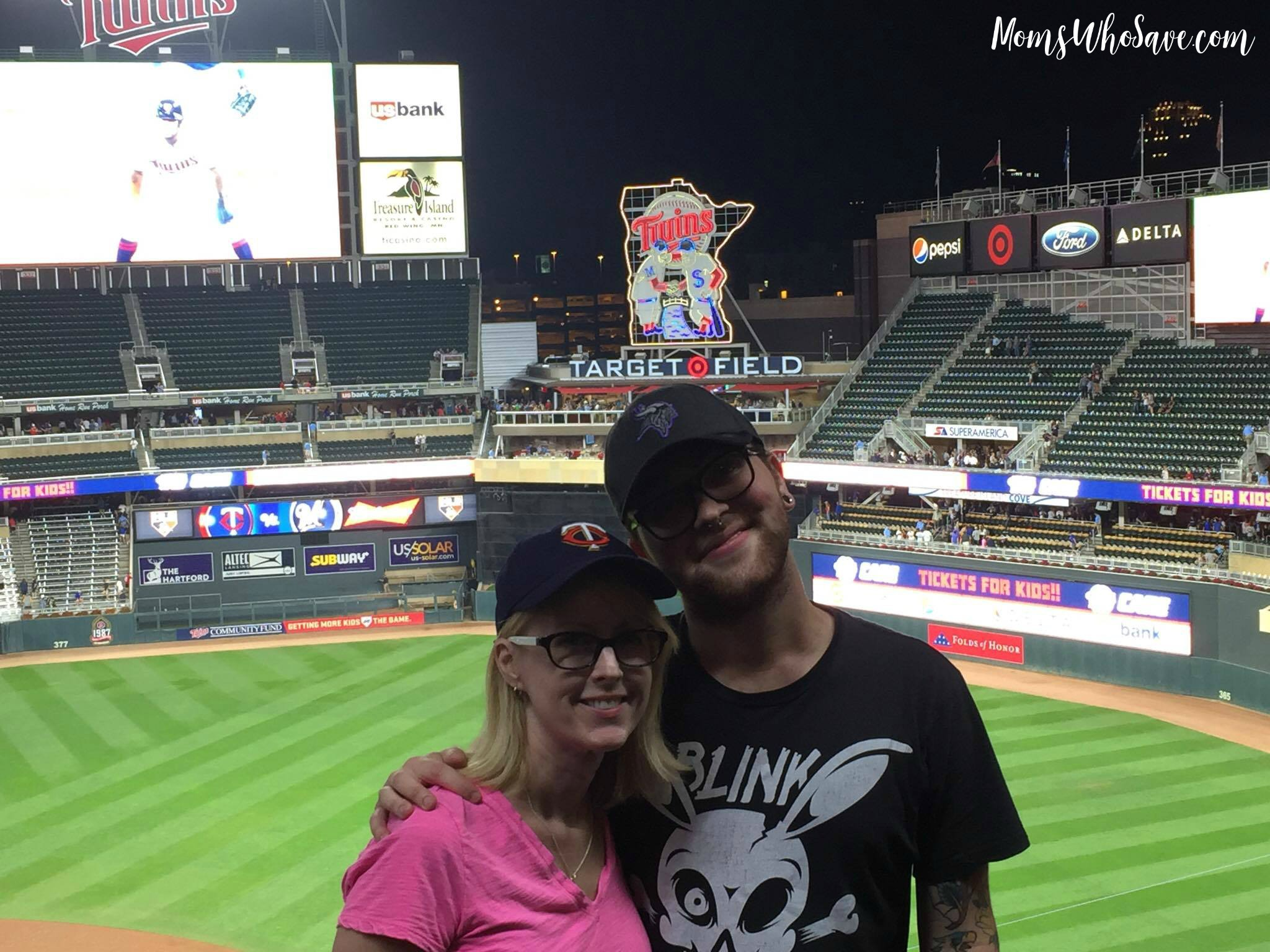 twins stadium - target field