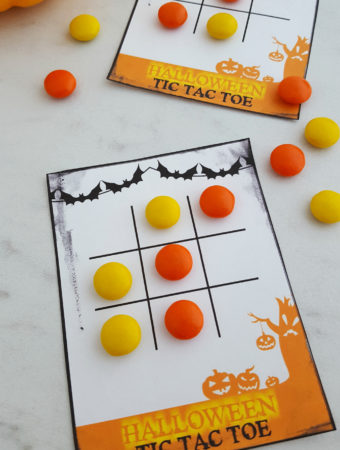 Halloween Tic Tac Toe