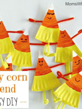 candy corn friend diy