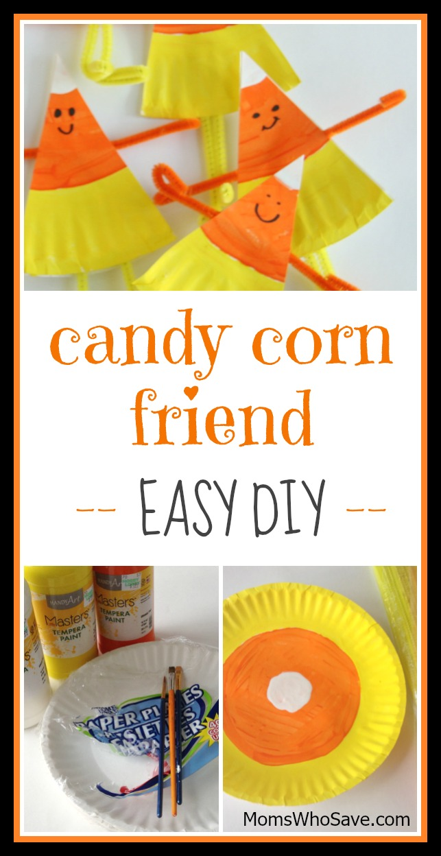 candy corn friends diy