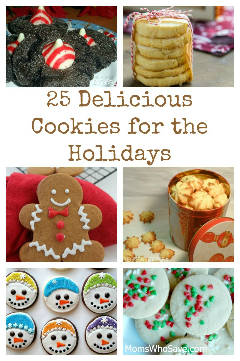 25 Delicious Cookies for the Holidays