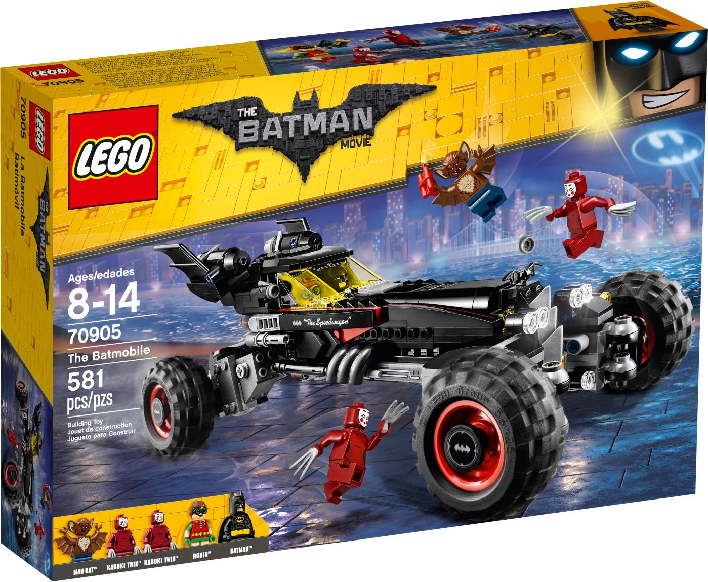 LEGO The Batman Movie Batmobile
