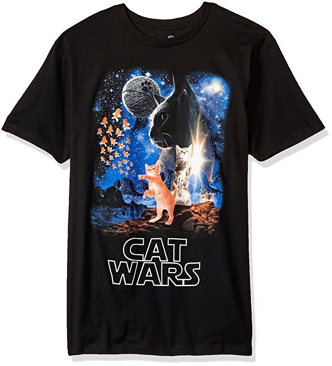 Cat Wars tee
