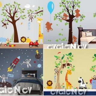 Enter to Win $150 to spend on Wall Decals at EvgieNev