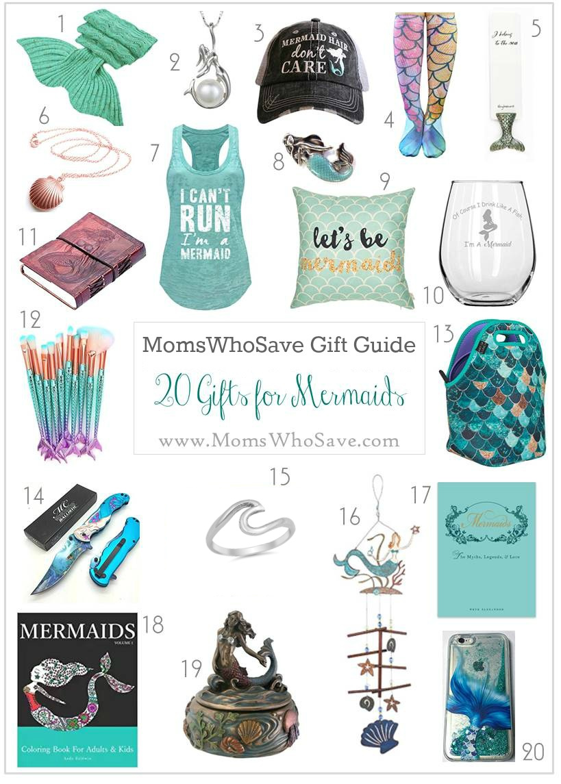 Gift guide 20 mermaid gifts she 39 ll love for Gifts she ll love