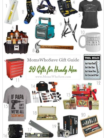Gift Guide — 20 Gifts for Handy Men
