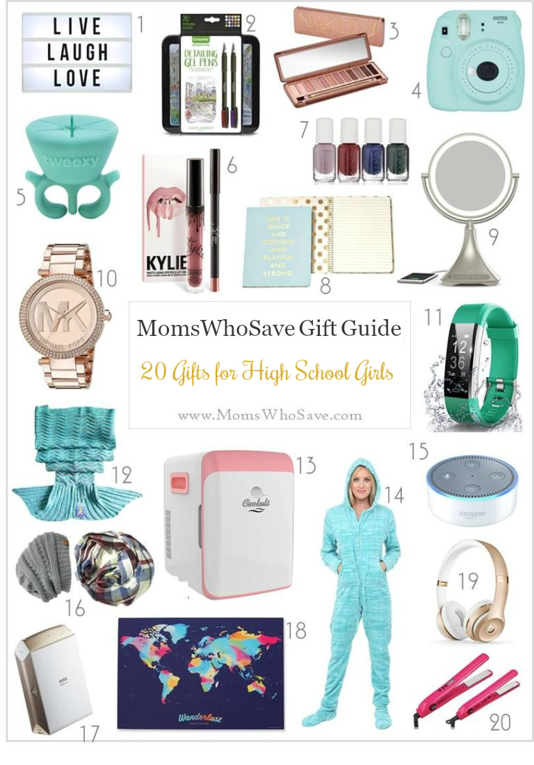 Gift Guide 20 Gift Ideas For High School Girls Momswhosave Com