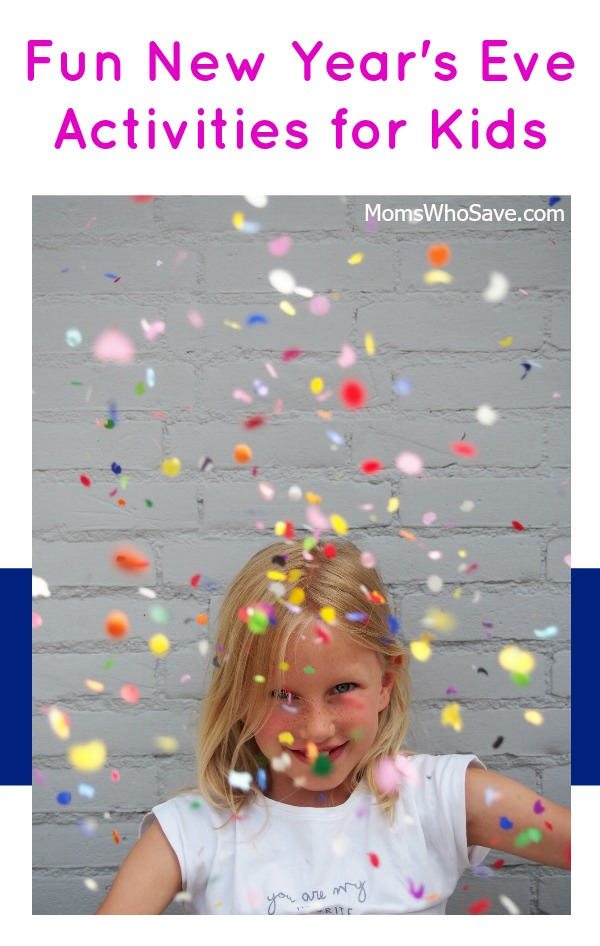 fun things for kids on new year's eve