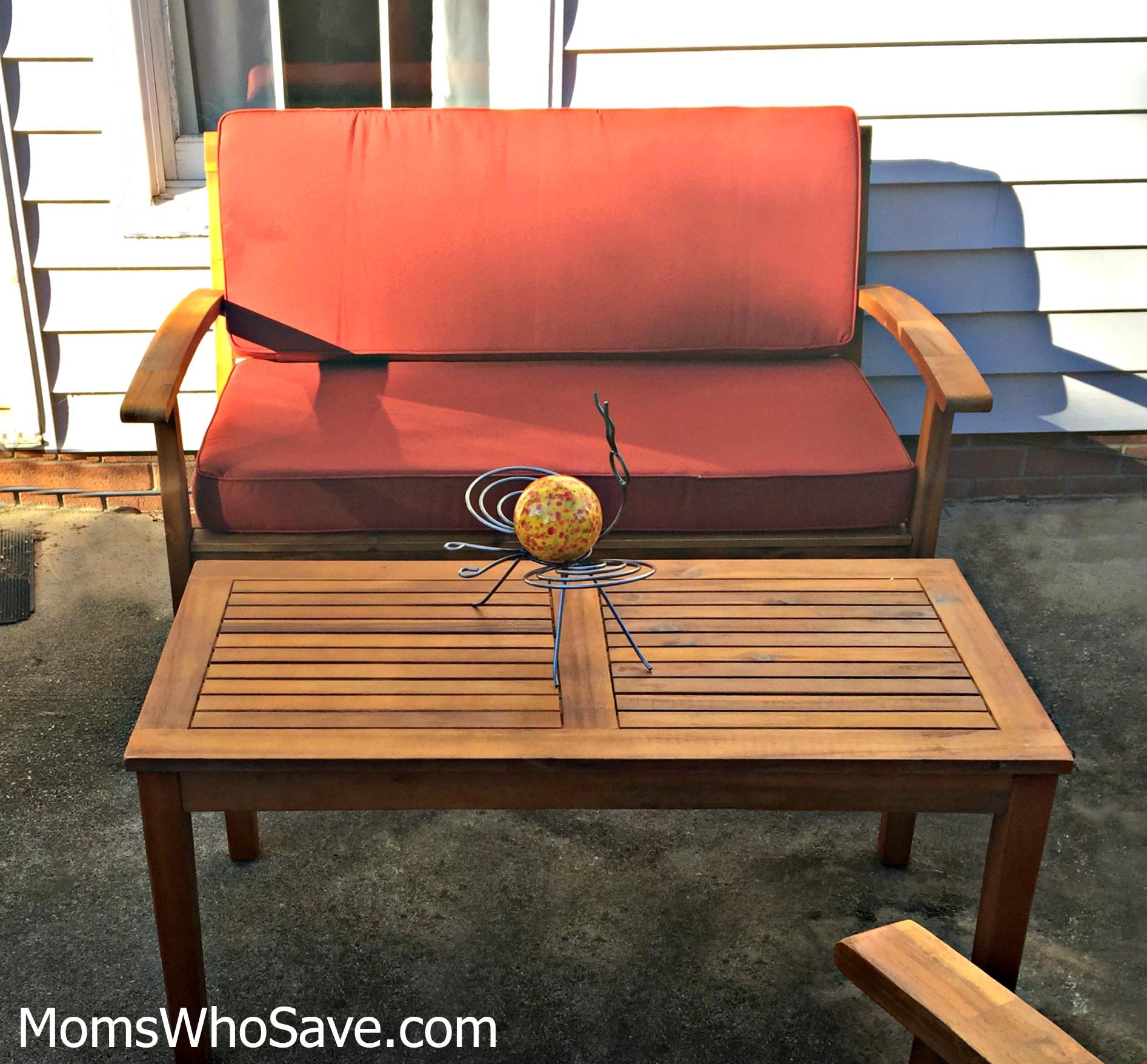outdoor living room set