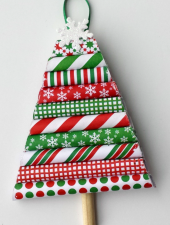DIY Christmas Paper Ornament