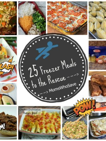 25 Freezer Meals to the Rescue