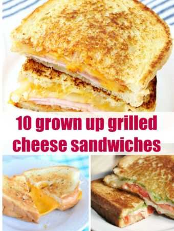 10 Grown Up Grilled Cheese Sandwiches