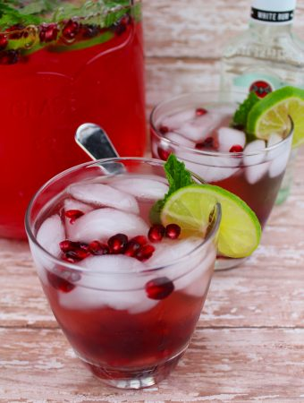 pomegranate mojitos recipe