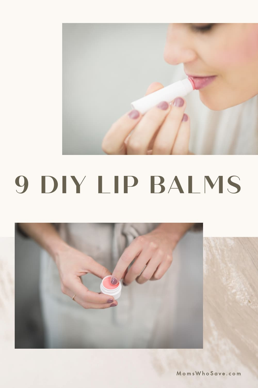 DIY Lip Balms + DIY Lip Scrub with Coconut Oil