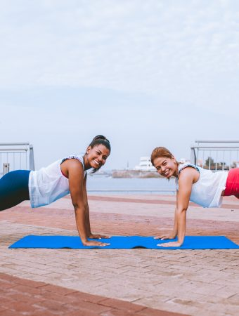 how to stay on track with fitness routine