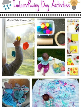 Preschool & Toddler Rainy Day Activities