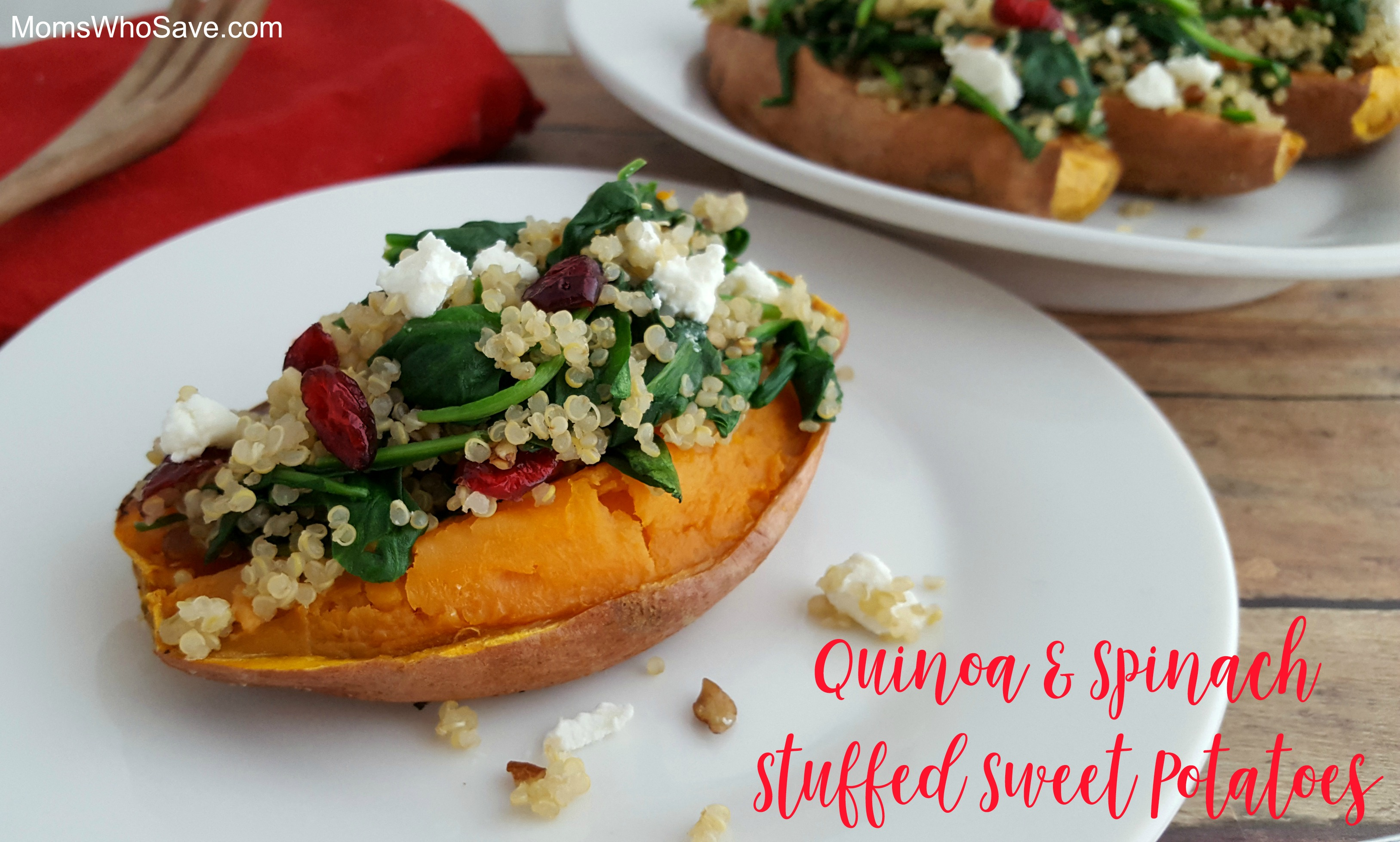 quinoa and sweet potatoes recipe