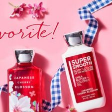 Bath & Body Works Japanese Cherry Blossom Body Care Items Just $5 Each + $10 Off Your $30 Purchase