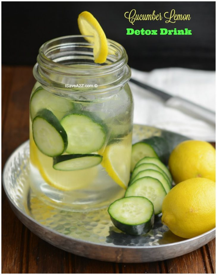 cucumber lemon infused water