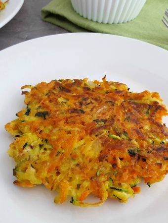 crispy vegetable fritters recipe