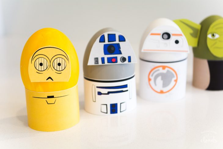 Star Wars theme Easter eggs