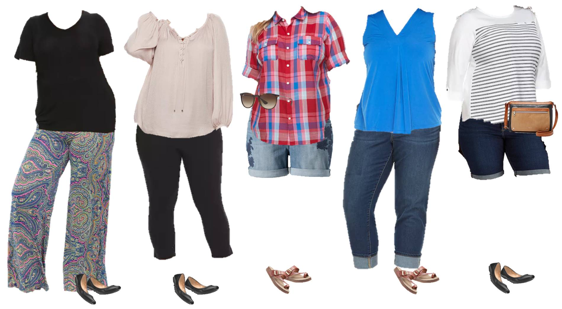 plus size capsule wardrobe for spring