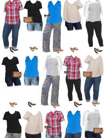 Plus Size Summer Wardrobe