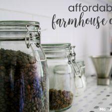 Affordable Farmhouse Decor
