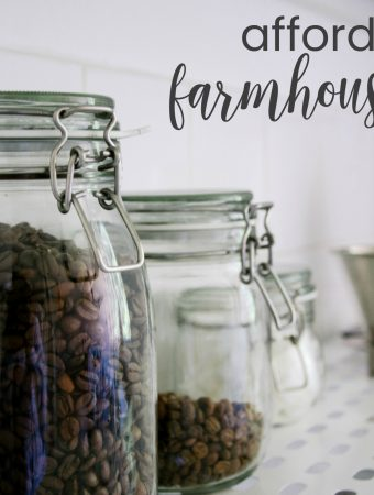 farmhouse decor that's affordable