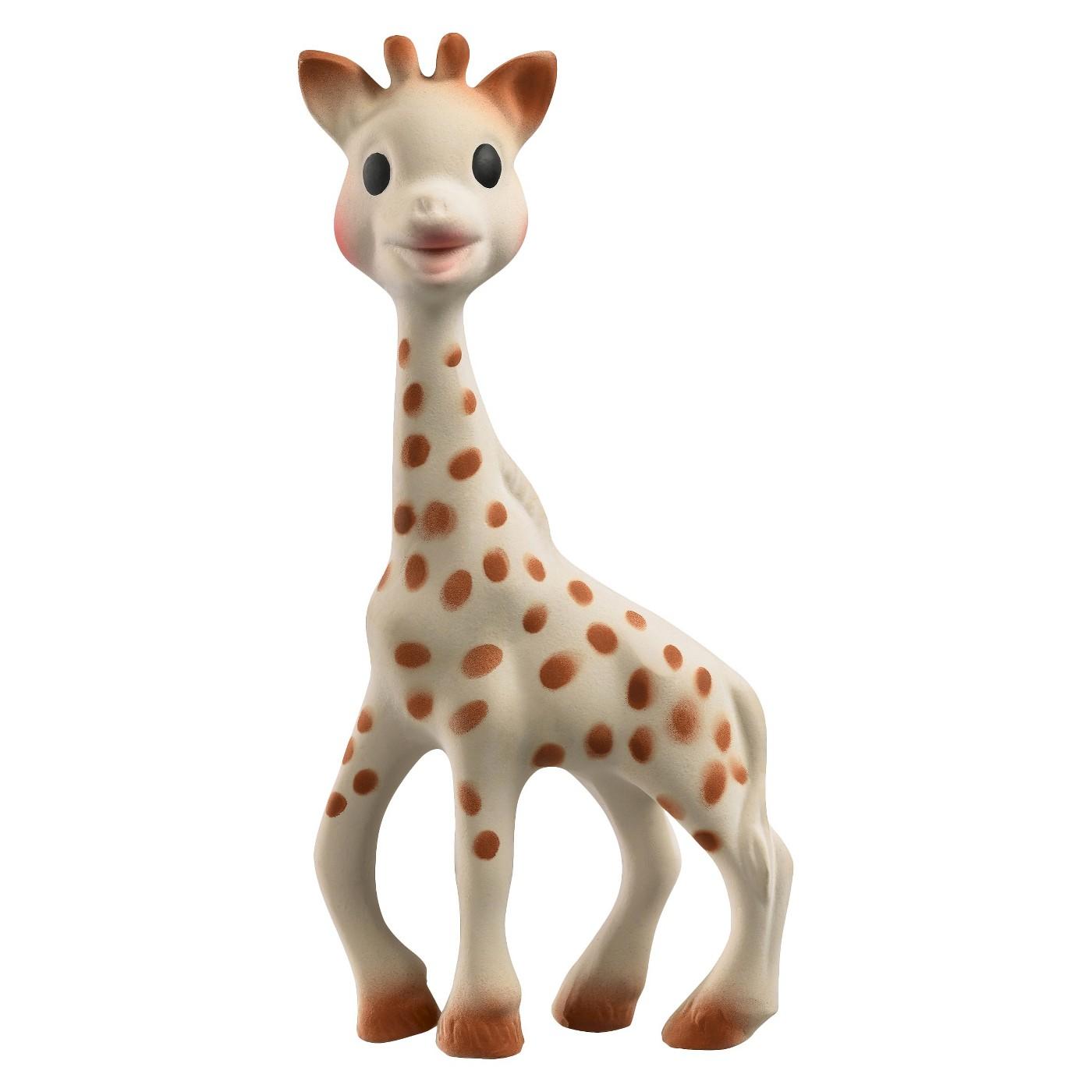 giraffe teething toy