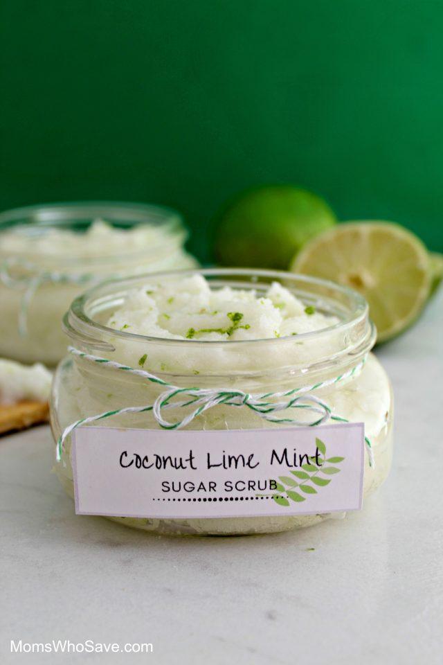 coconut sugar scrub recipe