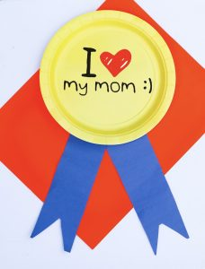 Mom Deserves a Medal — Mother's Day Paper Plate Kids' Craft