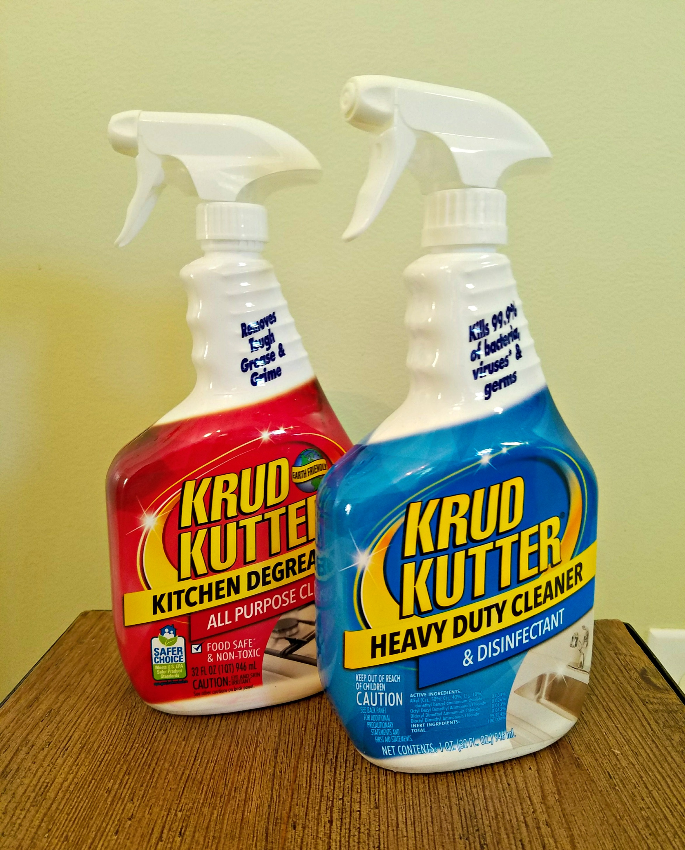 Krud Kutter cleaners