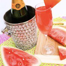 Watermelon Mimosas — Easy Recipe!