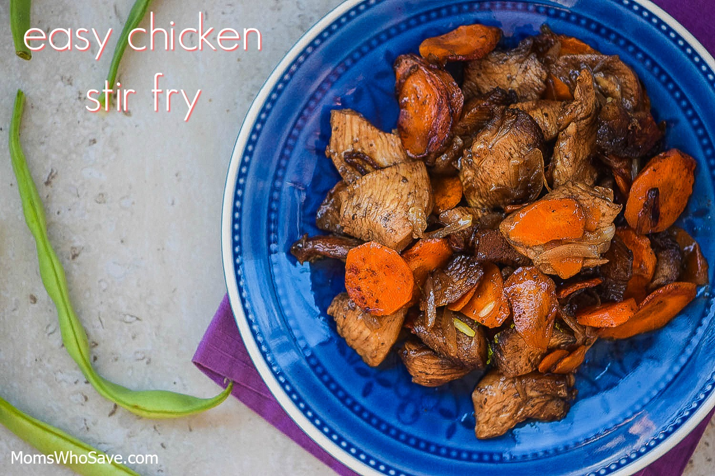 recipe for chicken stir fry