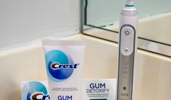Get Healthier Gums With Crest Gum Detoxify + an Ibotta Rebate!