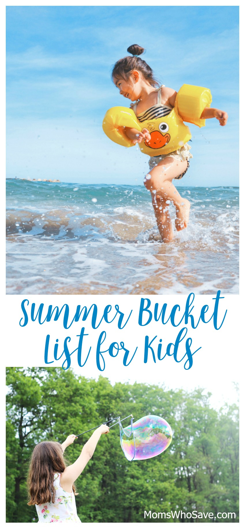 bucket list for kids