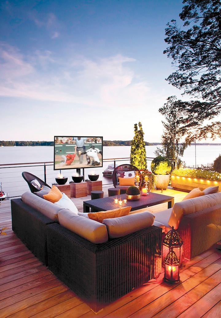 televisions to use outdoors