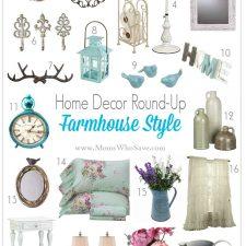 Home Decor Round-Up — Farmhouse Style