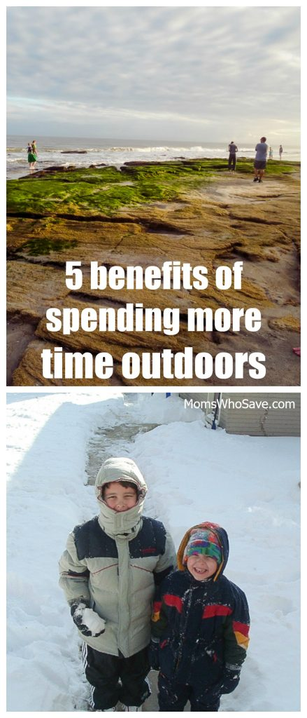 why you should spend time outside