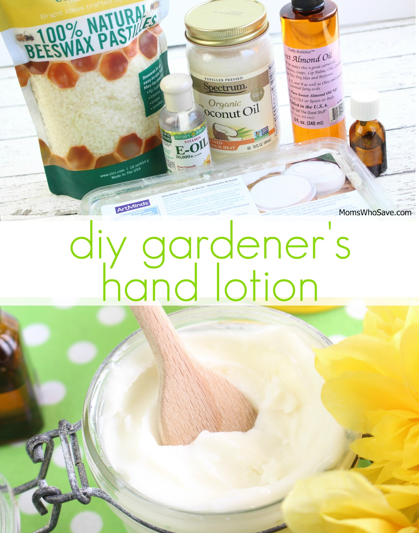diy hand lotion instructions