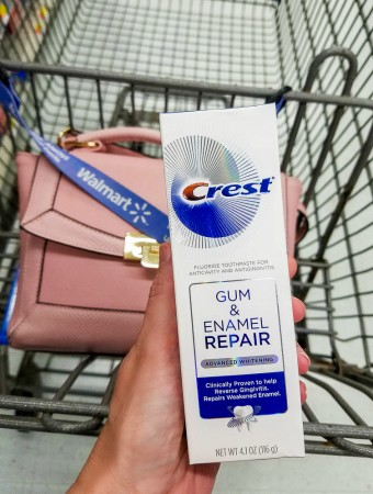 crest gum and enamel repair savings