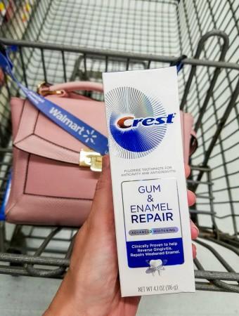 crest gum and enamel repair savings